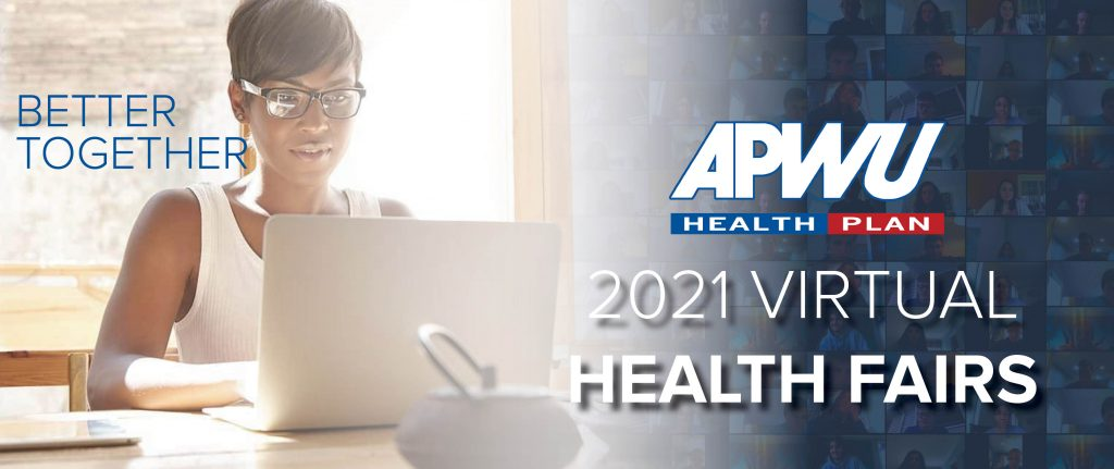 Attend a virtual health fair