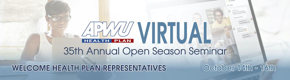 APWU Health Plan Virtual 35th Annual Open Season Seminar