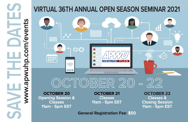 APWU Health Plan 36th Annual Open Season Seminar